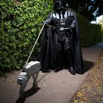 Darth Vader y su perro ATAT