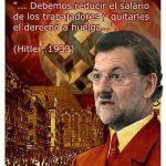 Debemos reducir el salario de los trabajadores y quitarles el derecho a huelga – Hitler, 1933
