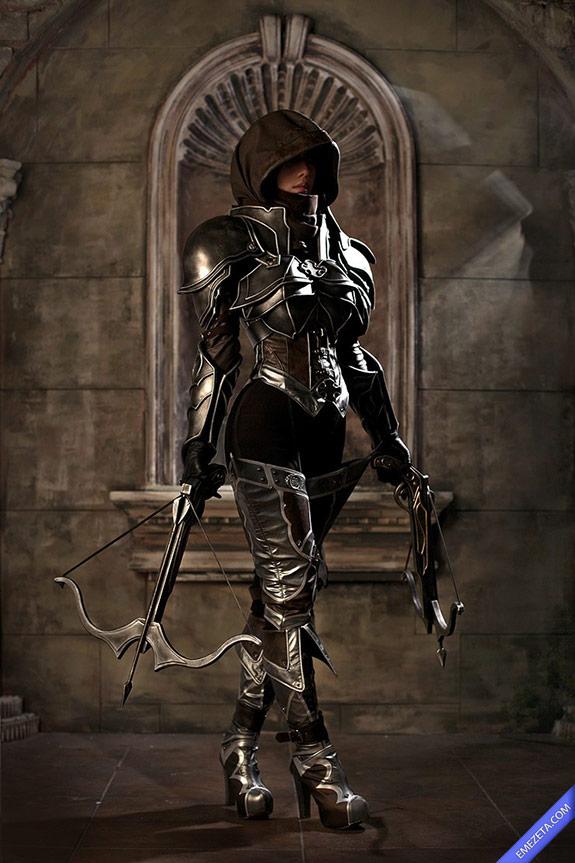 Cosplay Demon Hunter (Diablo III)
