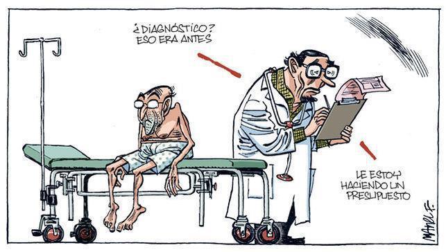 Nuevos recortes en Sanidad