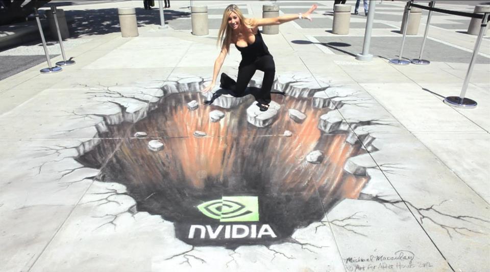nVidia - Dibujo en 3D
