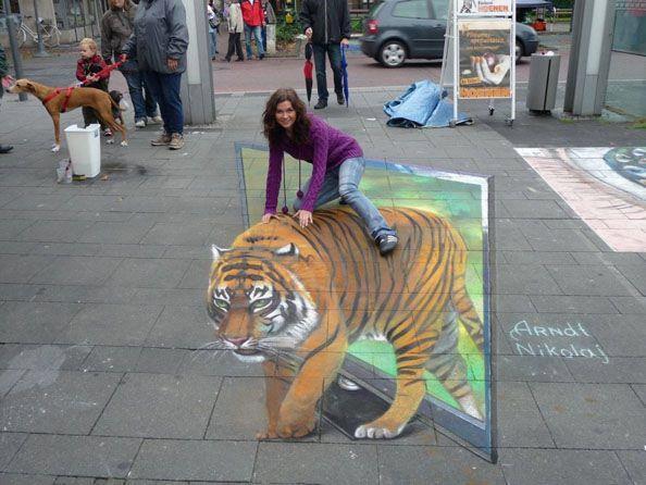 Tigre 3D