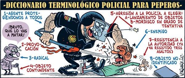 Diccionario terminológico policial para peperos