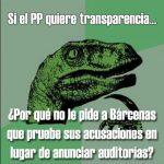 Si el PP quiere transparencia…