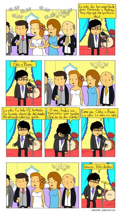 Discurso en boda