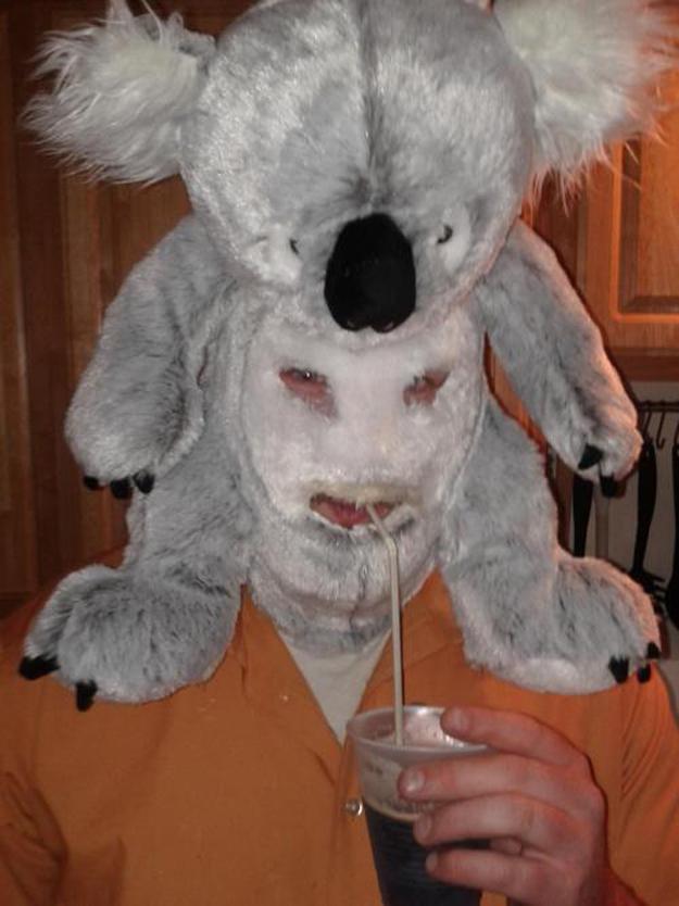 disfraz careta koala