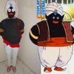 El mejor cosplay de Mr. Popo (Dragon Ball) que habrás visto