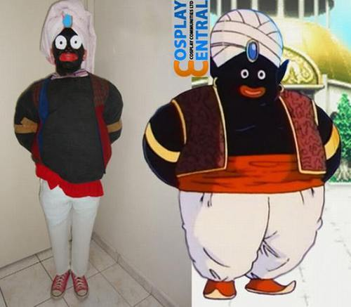 disfraz cutre mr popo dragon ball