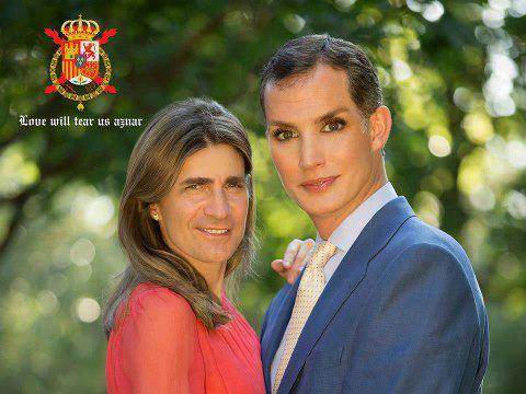 Nueva foto oficial de Don Felipe y Doña Leticia