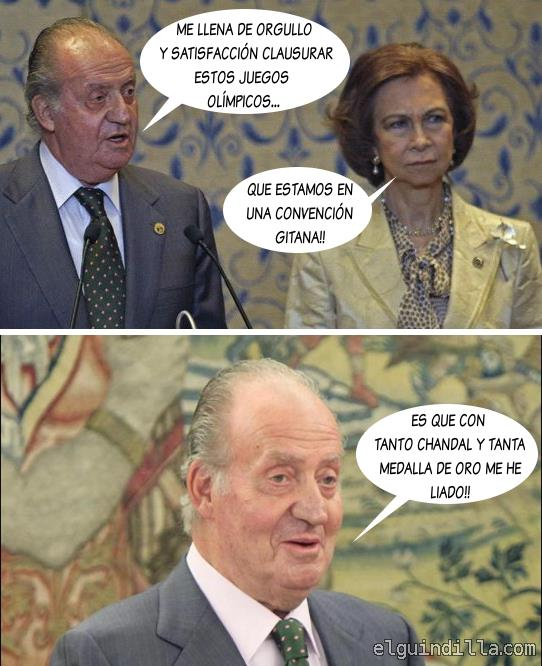 Juan Carlos - Clausura de los Juegos Olímpicos
