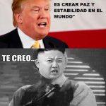 La respuesta de Kim Jong-Un a la misión de paz de Donald Trump