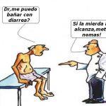 Dr., ¿me puedo bañar con diarrea?
