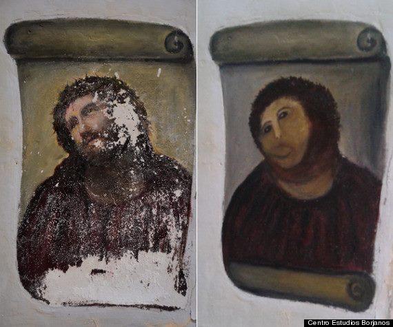Ecce Homo - Antes y después