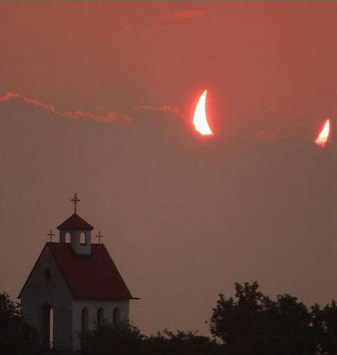 Eclipse cuernos
