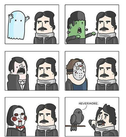 Edgar Allan Poe y sus fantasmas