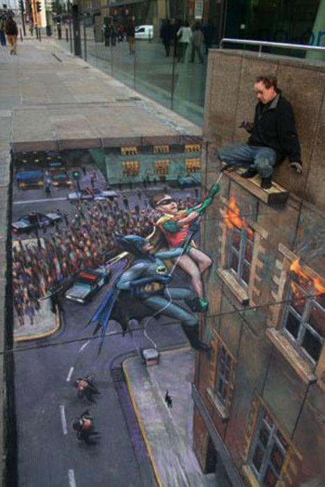 Edgar Mueller - Dibujo Batman y Robin