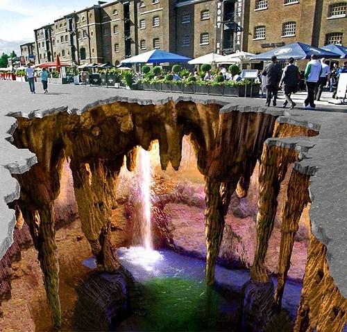 Cueva bajo la calle (Edgar Muller)