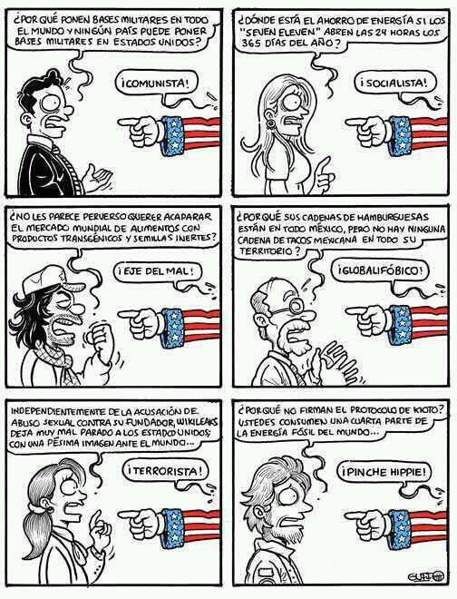 EE.UU. - Desacreditando al enemigo