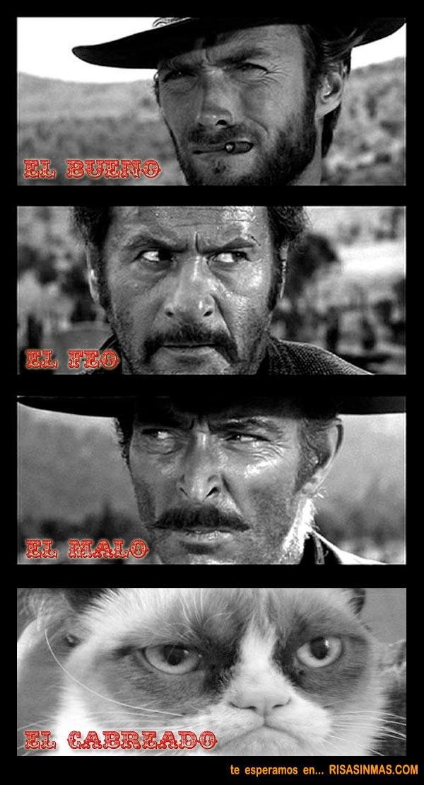 El bueno, el feo, el malo y el cabreado