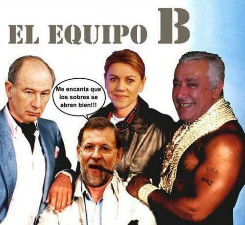 El equipo B