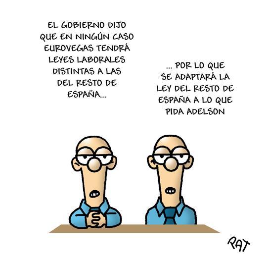 Eurovegas cambiará la ley laboral en España