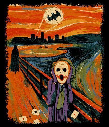 El grito (Batman version)