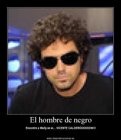 El Hombre De Negro Encontró A Wally En El Vicente Calderón