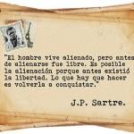 J.P. Sartre sobre la alienación