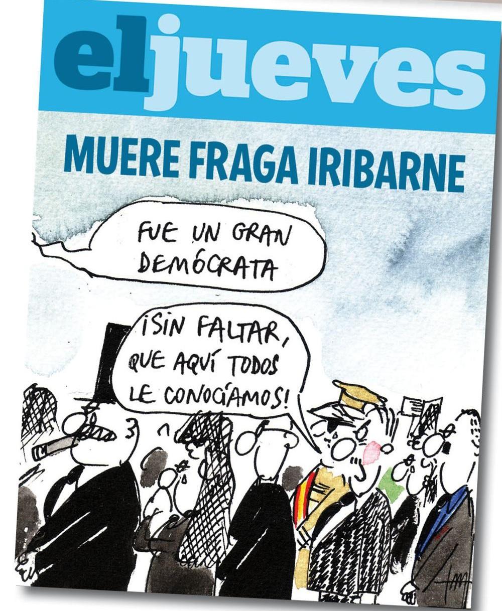 En el funeral de Fraga Iribarne...