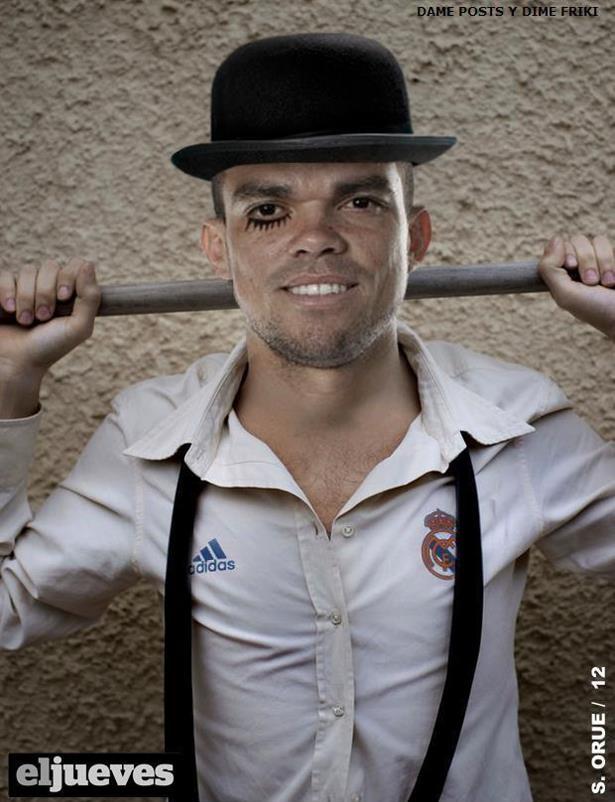 Pepe (Real Madrid) - La naranja mecánica