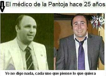Kiko Rivera y el médico de la Pantoja hace 25 años