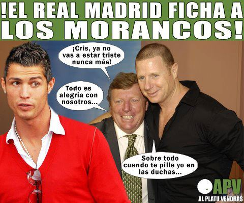 El Real Madrid ficha a Los Morancos para que Cristiano Ronaldo deje de estar triste