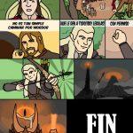 El señor de los anillos – La idea de Legolas