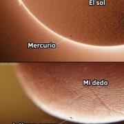 el sol mercurio mi dedo la x para cerrar el anuncio