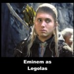 Eminem as Legolas