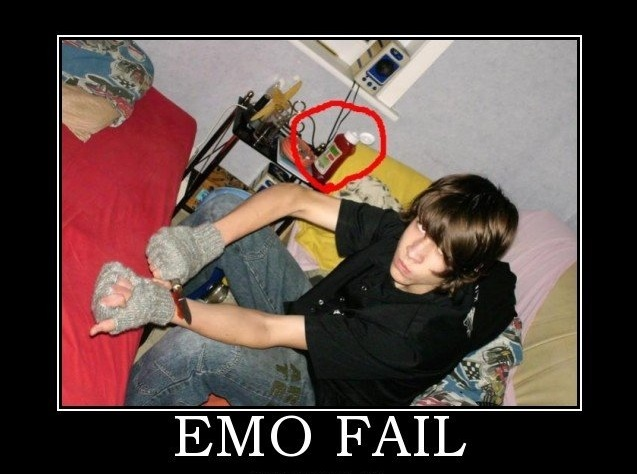 Emo fail
