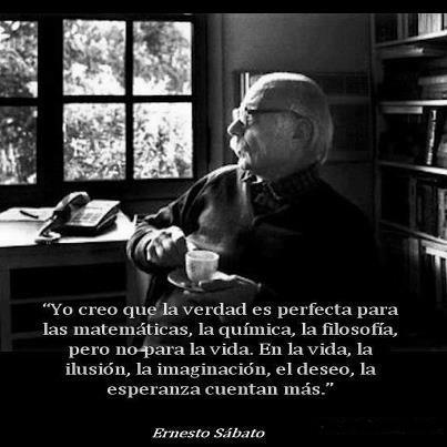 Ernesto Sábato, acerca de la verdad