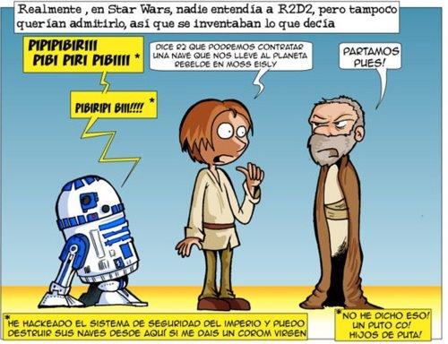 Curiosidad sobre Star Wars