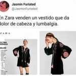 En Zara venden un vestido que da dolor de cabeza y lumbalgia