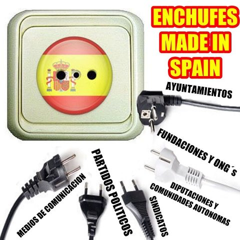 Enchufes made in Spain