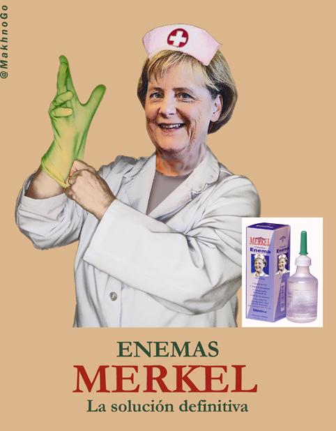 Enemas Merkel, la solución definitiva