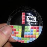 Envoltorio preservativo – Tetris – One perfect fix