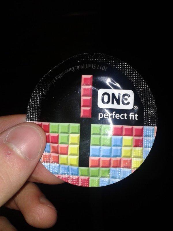Envoltorio preservativo - Tetris - One perfect fix