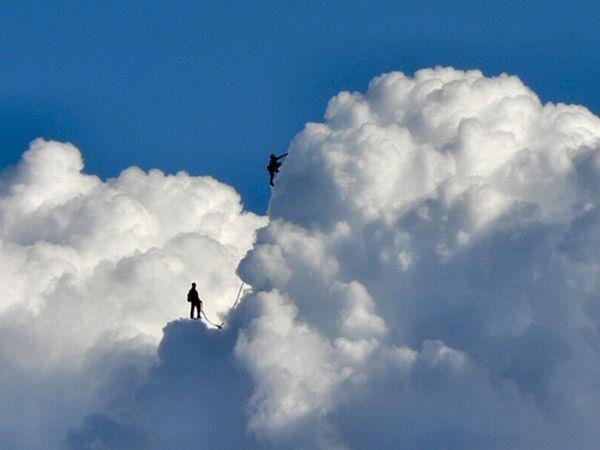 Escalando nubes