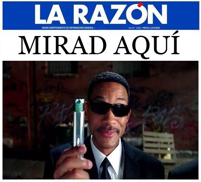 Mientras tanto, en La Razón...