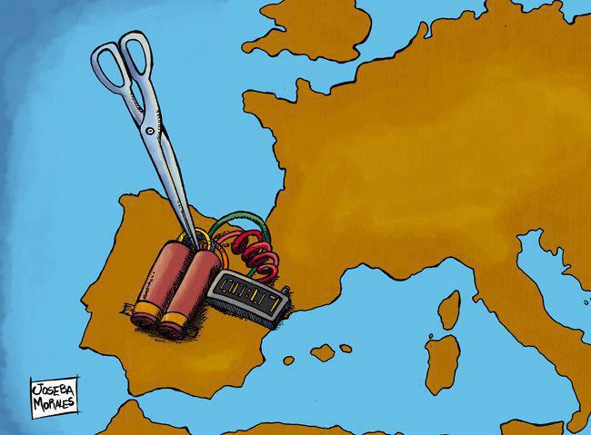 Efecto de los recortes en España