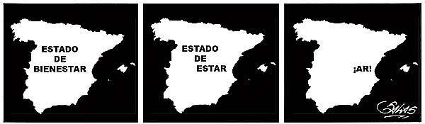 Desintegración del estado del bienestar en España