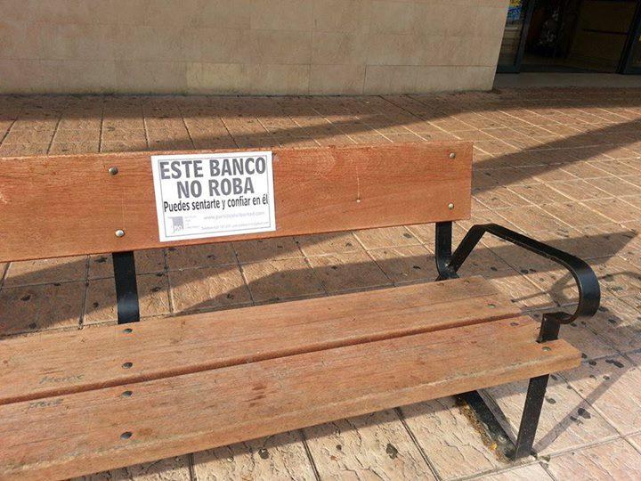 Un banco que no roba