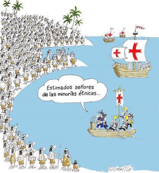 Estimados señores de las minorías étnicas