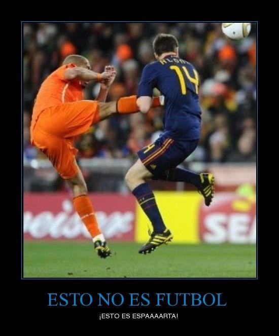 Esto no es fútbol